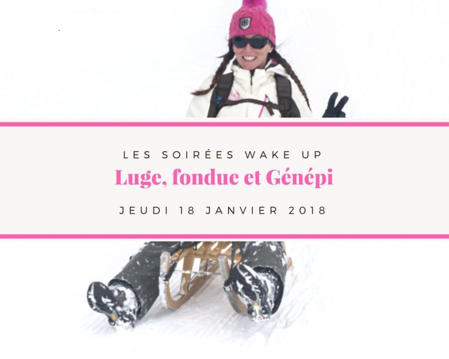 Soiree Luge 18.01.2018